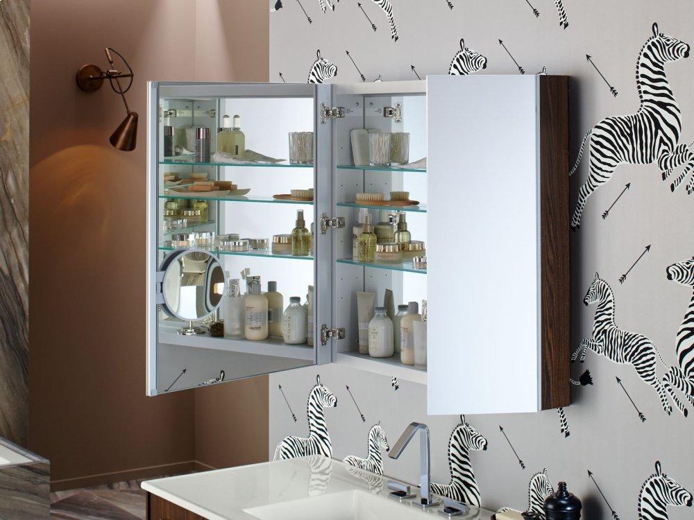 Laurentii Silk Medicine Cabinet Wood Side Kit