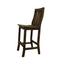 "24"" Rough Wood Santa Rita Barstool"