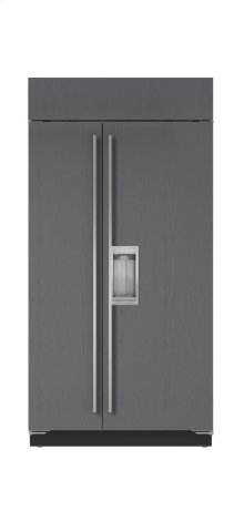 """42"""" Built-In Side-by-Side Refrigerator/Freezer with Dispenser - Panel Ready"""