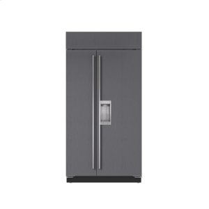 "Subzero42"" Built-In Side-by-Side Refrigerator/Freezer with Dispenser - Panel Ready"