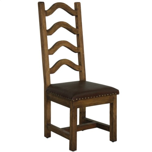 Laguna chair with leather seat