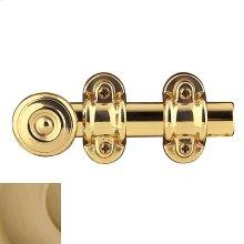Vintage Brass Ornamental Heavy Duty Surface Bolt
