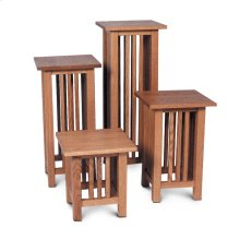 """Mission Plant Stand, Mission Plant Stand, 14""""h"""