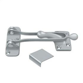 """5"""" Door Guard - Brushed Chrome"""
