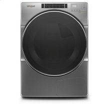 Whirlpool® 7.4 cu.ft Closet Depth Front Load Heat Pump Dryer with Intiutitive Touch Controls, Steam Refresh Cycle - Chrome Shadow