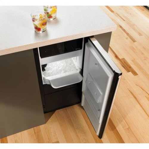 "Jenn-Air® Euro-Style 15"" Under Counter Ice Machine - Stainless Steel"