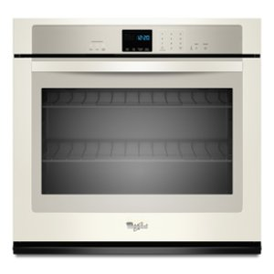 Whirlpool® 4.3 cu. ft. Single Wall Oven with SteamClean Option - BISCUIT-ON-BISCUIT