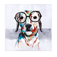 Wadley in Glasses Oil Painting