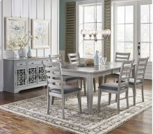 Sarasota Springs Ext Dining Table With Four Chairs