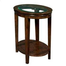 Elise Oval End Table
