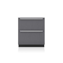 "30"" Designer Refrigerator/Freezer Drawers with Ice Maker - Panel Ready"
