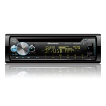 """CD Receiver with enhanced Audio Functions, Pioneer Smart Sync App Compatibility, MIXTRAX®, Built-in Bluetooth®, and SiriusXM-Ready """""""