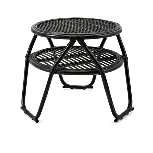 Rafia Rattan Table