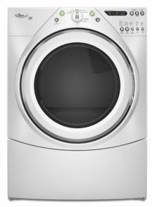 White-on-White Duet® Super Capacity Plus Electric Dryer-USED