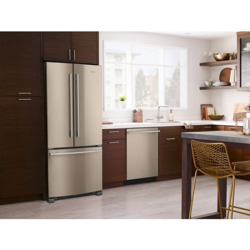 Whirlpool® 33-inch Wide French Door Refrigerator - 22 cu. ft. - Sunset Bronze