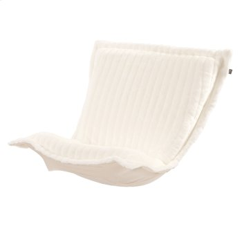 Puff Chair Cushion Mink Snow Product Image