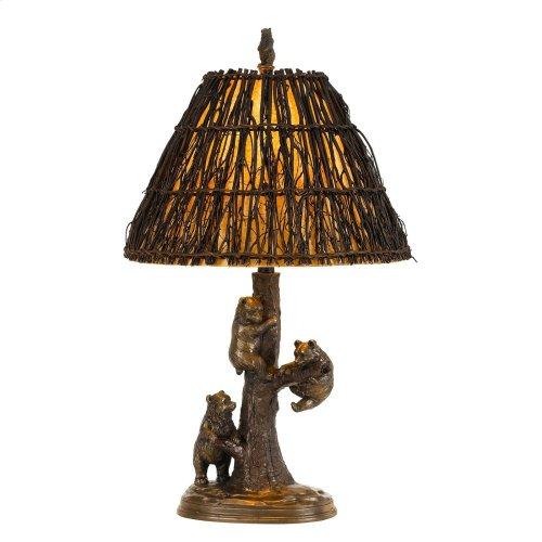 150W Bear Resin Table Lamp