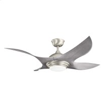 "Shuriken Collection Shuriken 52"" Ceiling Fan - Brushed Nickel NI"