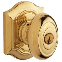 Lifetime Polished Brass 5237 Bethpage Knob