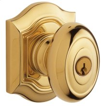 Lifetime Polished Brass 5237 Bethpage Knob