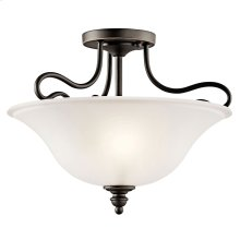 Tanglewood Collection Tanglewood 2 light Semi Flush OZ