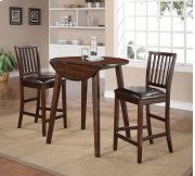 Mango Counter 3PC - Table With 2 Pub Chairs Product Image