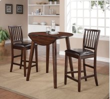 Mango Counter Height Drop-Leaf Table