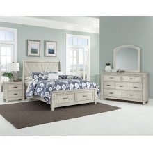Sleigh Storage Bed