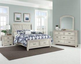Sleigh Storage Bed