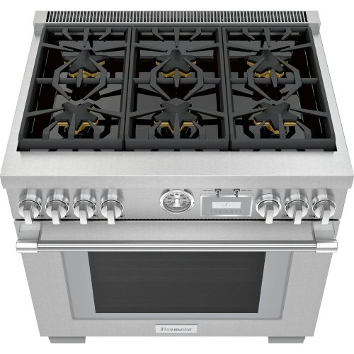 36-Inch Pro Grand® Commercial Depth Dual Fuel Range