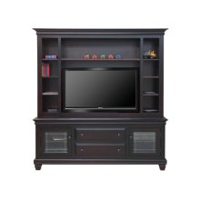 Florentino HDTV Cabinet with Hutch