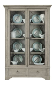 Marquesa Display Curio in Gray Cashmere (359)