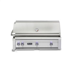 Viking42 W. Built-in Grill with ProSear Burner and Rotisserie, Propane Gas