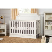 Warm White Emma Regency 4-in-1 Convertible Crib
