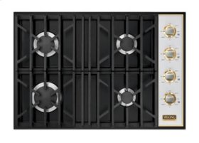 "30"" Gas Cooktop, Propane Gas, Brass Accent"