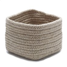 """Natural Shelf Storage Basket AT33 Lt Beige 11"""" X 8"""""""