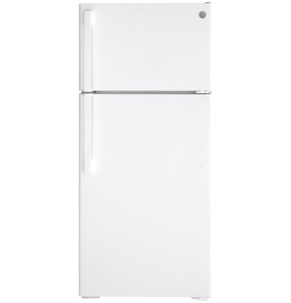 GE(R) ENERGY STAR(R) 16.6 Cu. Ft. Top-Freezer Refrigerator