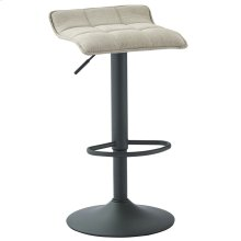 Pluto Air Lift Stool, set of 2, in Beige