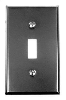 Switch Plate, One Toggle