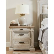 Portico Nightstand - Shell