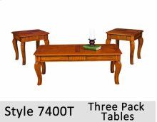 7400T - Three Pack Tables