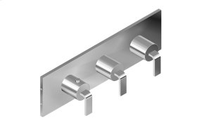Immersion M-Series Valve Horizontal Trim with Three Handles