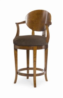 Olive Swivel Counter Stool