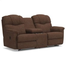 Lancer La-Z-Time® Full Reclining Loveseat w/ Console