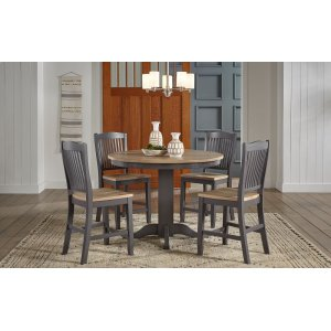 A AmericaGATHER HEIGHT ROUND TABLE