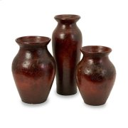 Malorie Terracotta Vases- Set of 3 Product Image