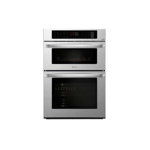 Lg1.7/4.7 cu. ft. Smart wi-fi Enabled Combination Double Wall Oven
