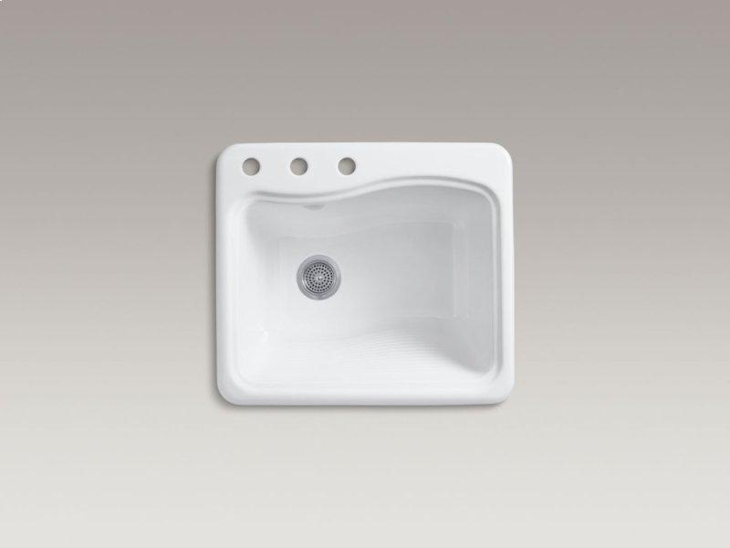 K665730 in White by Kohler in Atlanta, GA - White Top-mount Utility ...