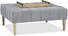 Urban Elevation Square Ottoman/Cocktail Table
