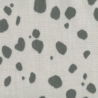 Spotty Charcoal Fabric